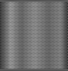 metal grid seamless background vector image