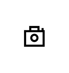 photo icon symbol sign vector image