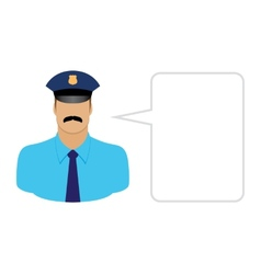 Police avatars and User Icons vector