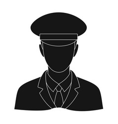 postmanmail and postman single icon in black vector image
