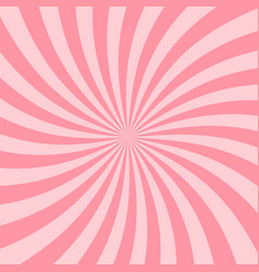retro pink starburst background vintage star ray vector image