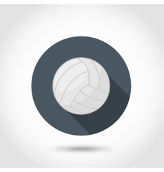 Volleyball ball icon vector
