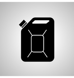 Fuel Can icon Jerrycan oil icon vector image