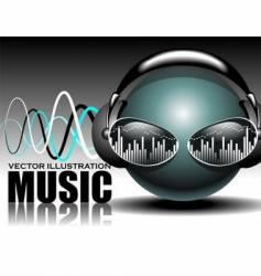 Music illustration vector