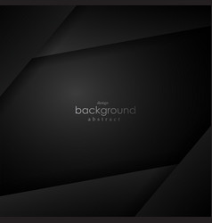black layer background with black space for text vector image vector image