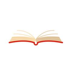 Book literature icon flat style vector