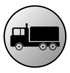 Cargo car vector image