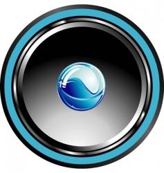 glossy speaker vector image
