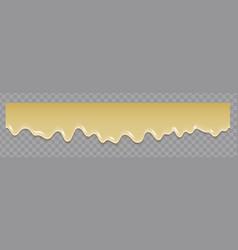 Liquid condensed milk seamless pattern repeat vector