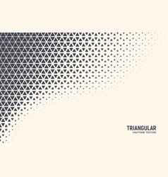 Triangle abstract technology background vector