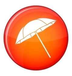 Umbrella icon flat style vector