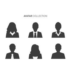 variety people avatar icons vector image