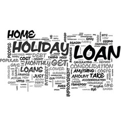 what can i get a loan for text word cloud concept vector image