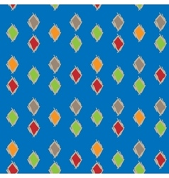 Colorful background of diamonds seamless pattern vector image vector image