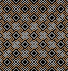 Seamless geometric pattern in Celtic style vector image vector image