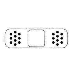 bandage medical symbol vector image