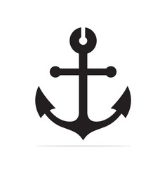 anchor icon concept for design vector image
