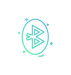 computer technology icon design vector image