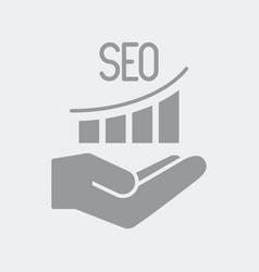 efficiency improvement seo services vector image