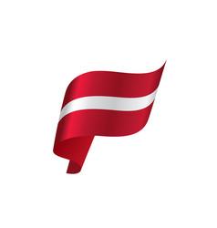 latvia flag vector image