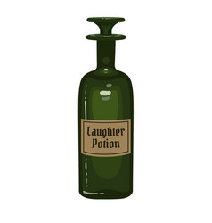 laughter potion vector image