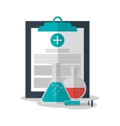 Medical history and Health care design vector