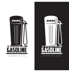 Petrol station logo vector