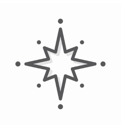 star logo or icon vector image