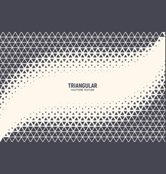 triangle abstract technology background vector image