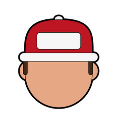 young man icon image vector image
