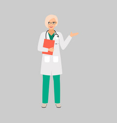 nepiologist medical specialist vector image