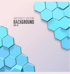 abstract geometric mosaic template vector image