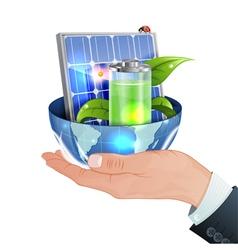 Green Energy Concept vector image