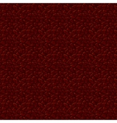 Dark leather texture background Leather seamless vector image