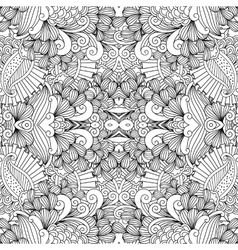 Symmetrical abstract seamless background vector image vector image