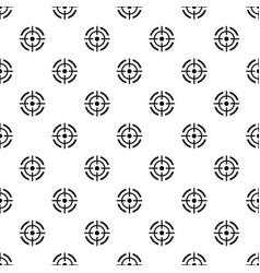 aim target pattern seamless vector image