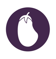 Beet fresh vegetable icon vector