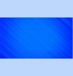 Blue background with halftone diagonal lines vector