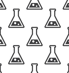 laboratory seamless pattern vector image