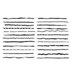 sketch lines pencil textured doodle freehand line vector image
