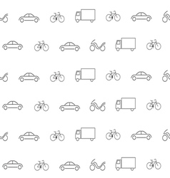 transportation pattern2 vector image