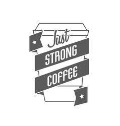 logo for restaurant cafe bar coffee house On vector image