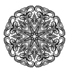 Graphic tentacles ornament vector
