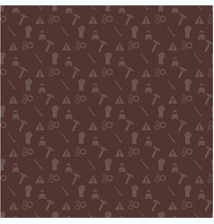 happy labor day brown pattern background vector image