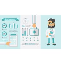 Healthcare Infographic Elements vector