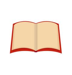 book university icon flat style vector image