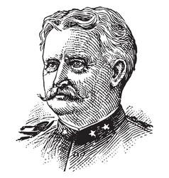 General wesley merritt vintage vector