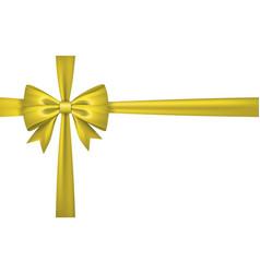 Gift bow tie vector