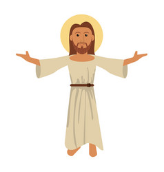 Jesus christ blessed faith image vector