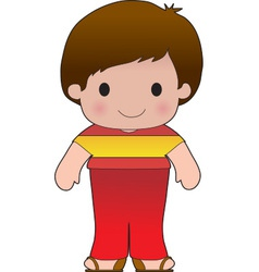 Poppy Spain Boy vector